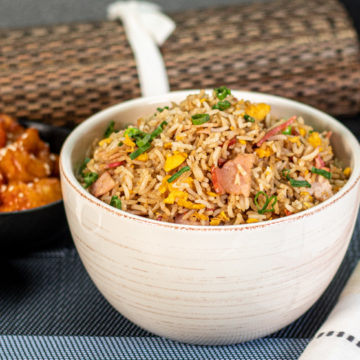 Classic Fried Rice Made at Home