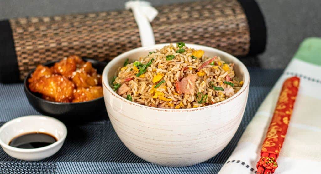 classic fried rice at home