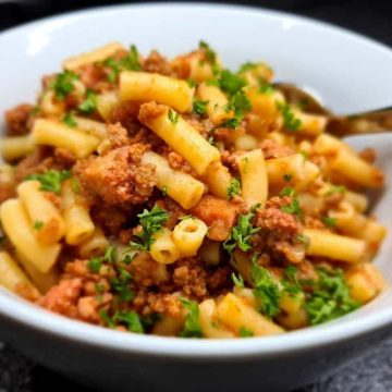 Herbed Beef and Macaroni