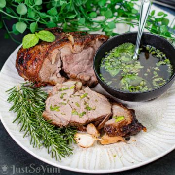featured-image-for-air-fryer-roast-lamb-with-a-mint-sauce-glaze