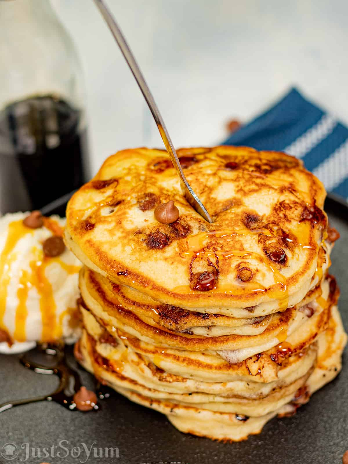post-featured-image-for-chocolate-chip-pancakes-with-maple-syrup